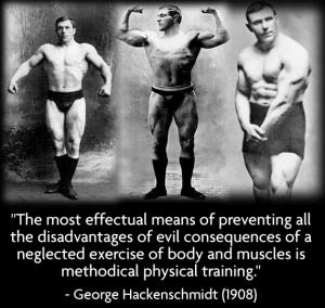 How 2 Wrestlers & George Hackenschmidt Changed My Way Of Training