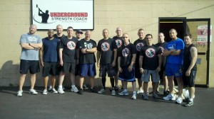 Underground Strength Coach Cert Inspiration WINNERS!