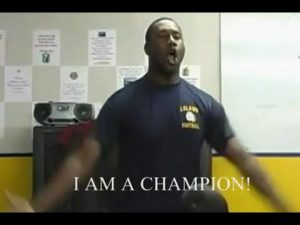 "Monday Motivation: ""Who Am I?"" I AM A CHAMPION!!!!"