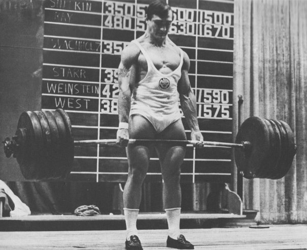 bill starr deadlift