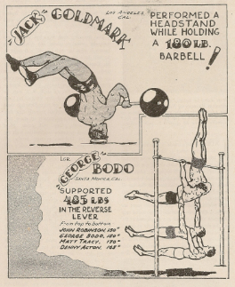 Old School Bodyweight Ad