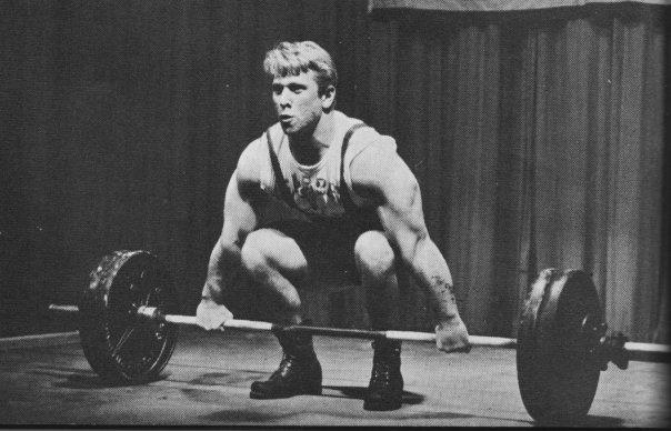 Istvan Javorek Mr Triceps 1965