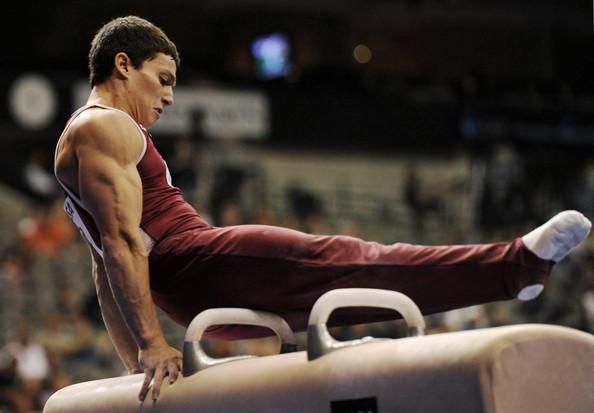 ripped gymnast