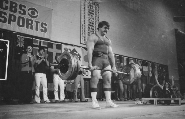 old school strength deadlift
