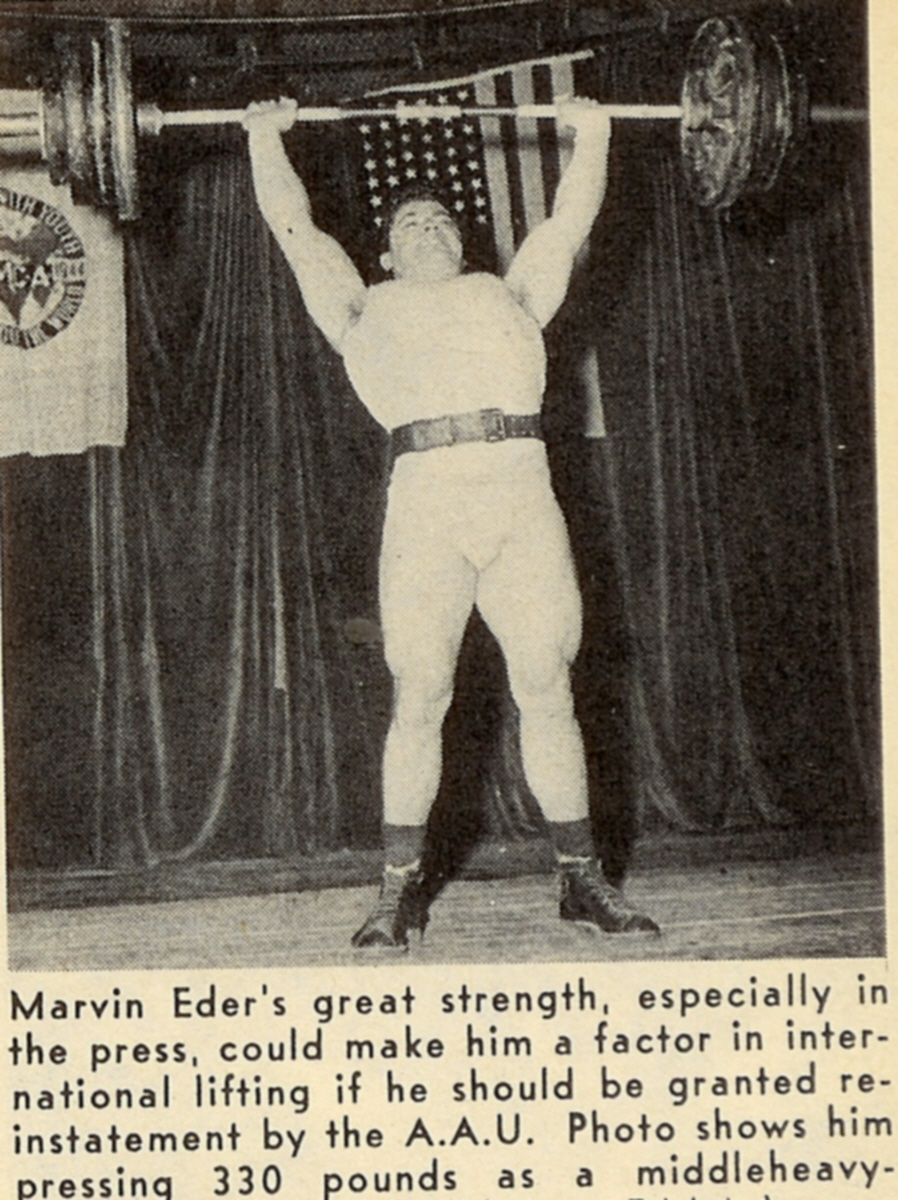 Marvin Eder Military Press