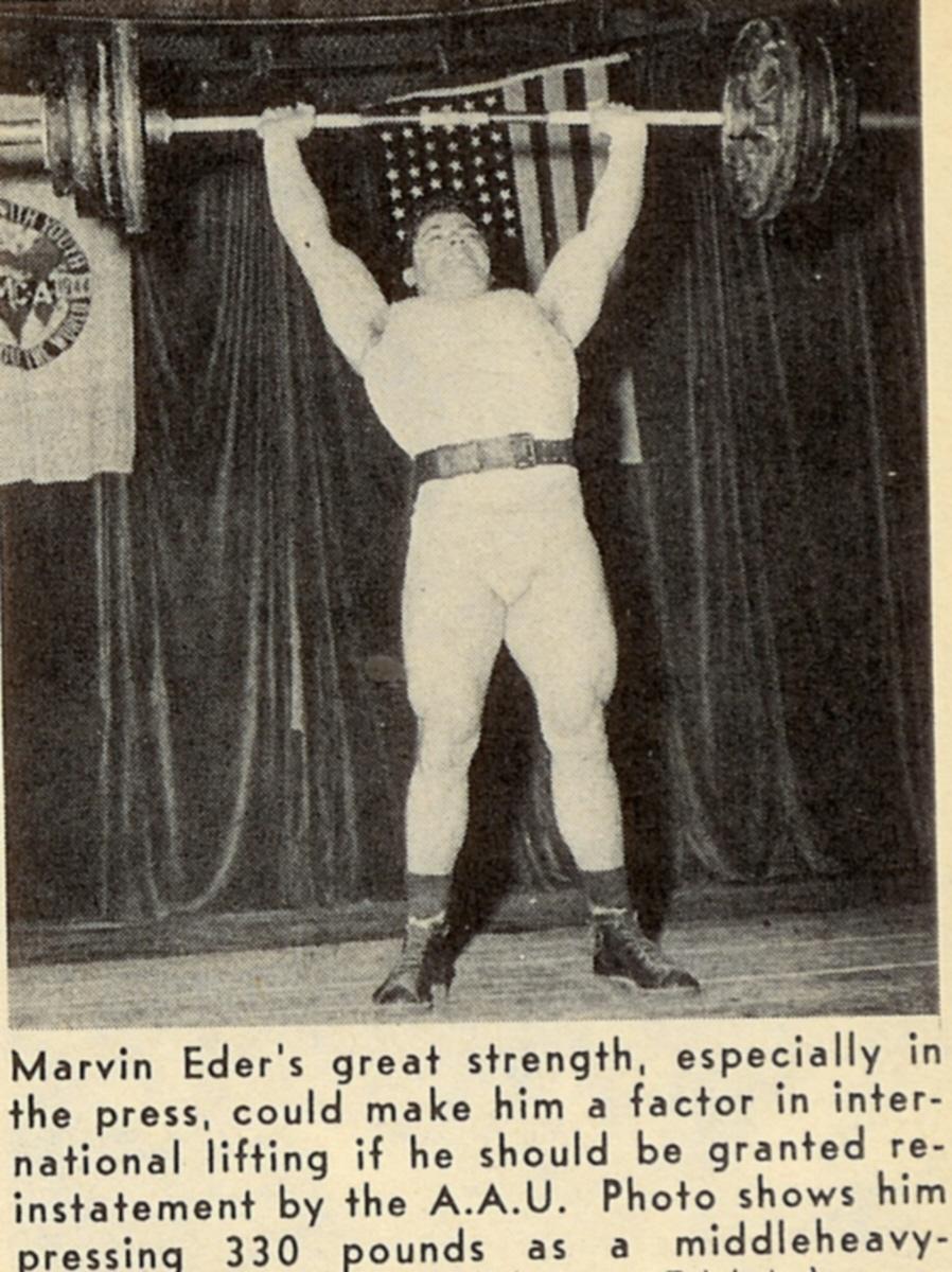 Marvin Eder Military Press