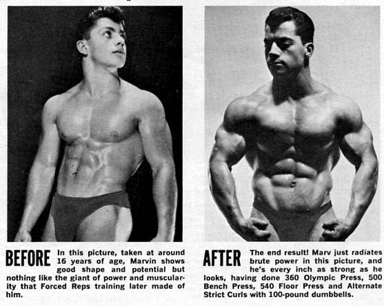 marvin eder before & after
