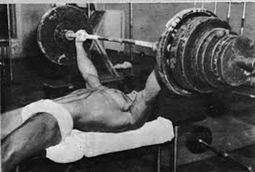 marvin eder bench press