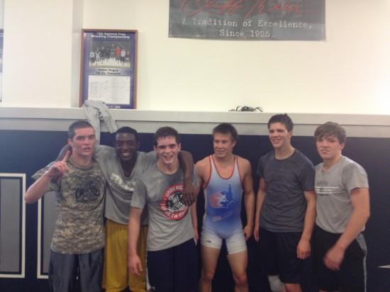 Blair & Team Underground After 2.5 Hrs of Training!