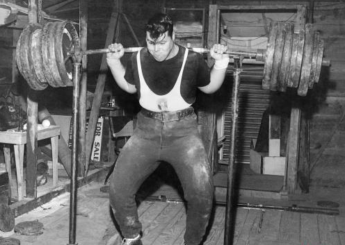 Old-School-Squats