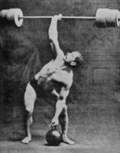 Arthur Saxon & Old School Strength