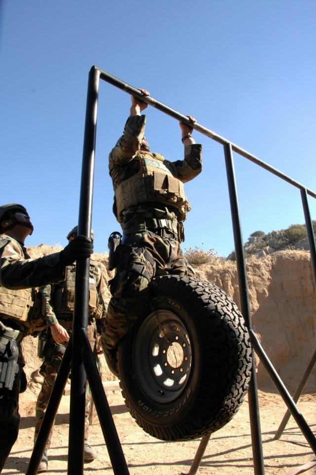 Navy SEALs Training Underground Style.