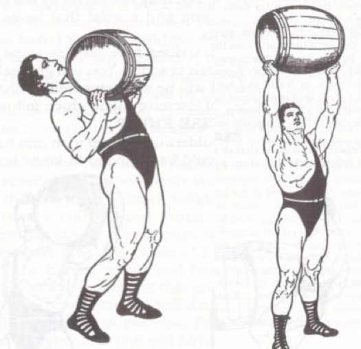 Keg-Barrel-Lifting