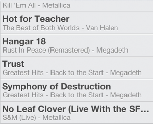 April, 2013 Underground Strength Playlist