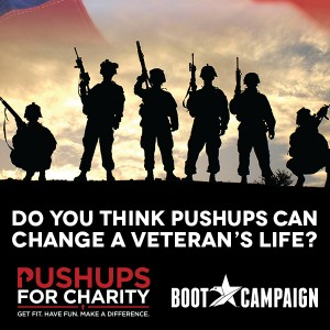 Push Ups For Charity & The Navy SEAL Push Up Workout