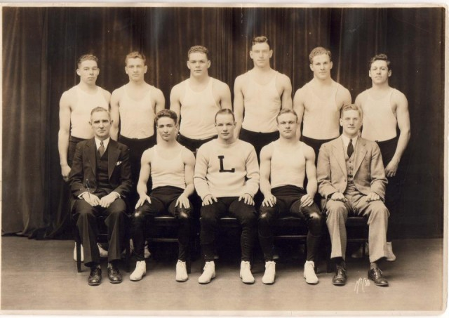 Lehigh University Wrestling Team 1936