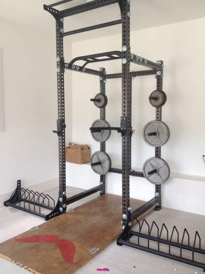 Matt's rig from Sorinex, set up in his garage