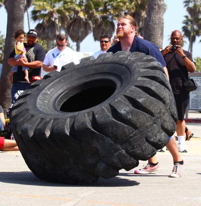 Ryan Burgess - Tire Flip
