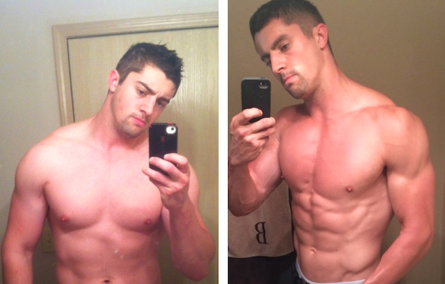 Logan Transforms from 250 lbs to 211 lbs following The Renegade Diet