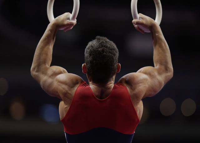 Muscle With Gymnastic Ring