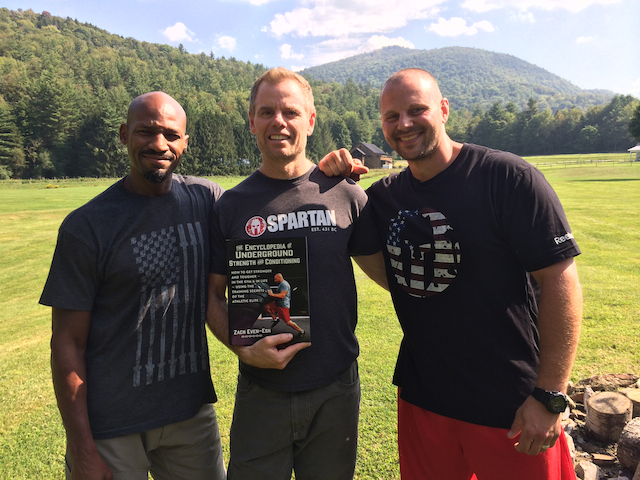 At SPARTAN Race HQ with Quattro Deuce & Joe DeSena