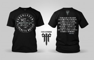 NEW Underground Strength T Shirt – Be A SAVAGE!