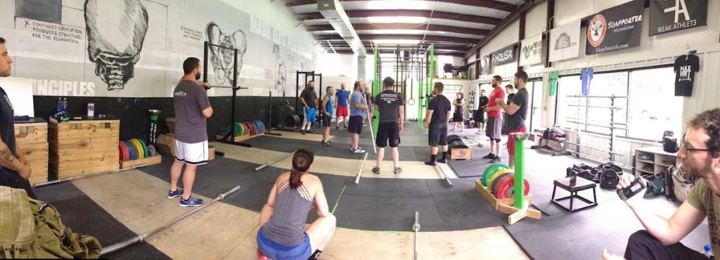 Dane miller garage strength gym farm living