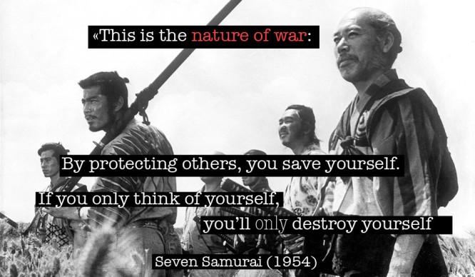SevenSamurai-WarQuote