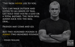 The Iron NEVER Lies