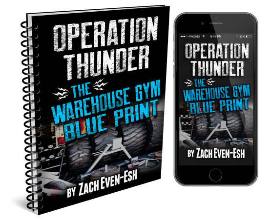 WarehouseGymBlueprintBookCOMBO