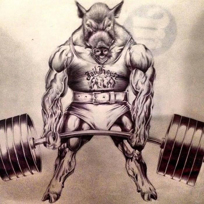 Josh-Strength-JailHouse-Strong