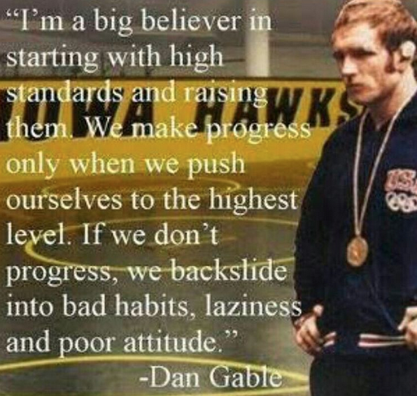 DanGable-Excellence-Quote