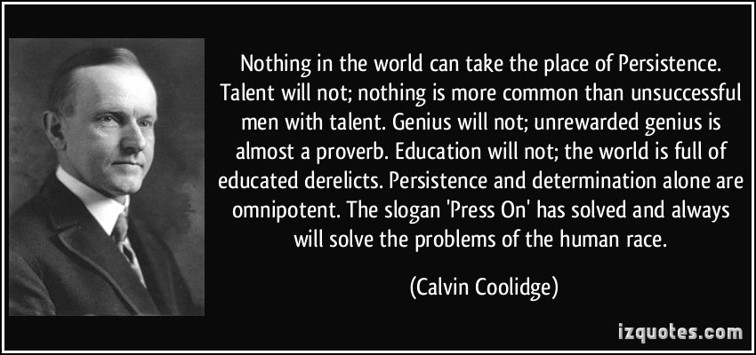 Coolidge-Persistence-Quote