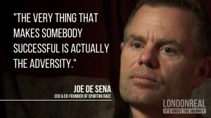 Joe DeSena on SPARTAN Parenting, Changing Schools & Life Purpose