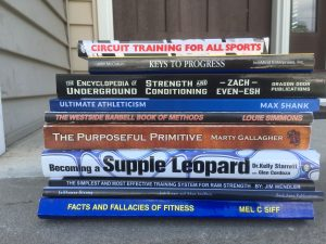 Strength & Conditioning Books + STRONG Knowledge In Business & Life