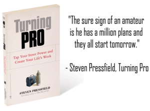 Turning Pro, Regardless of WHO You Are & What You Do