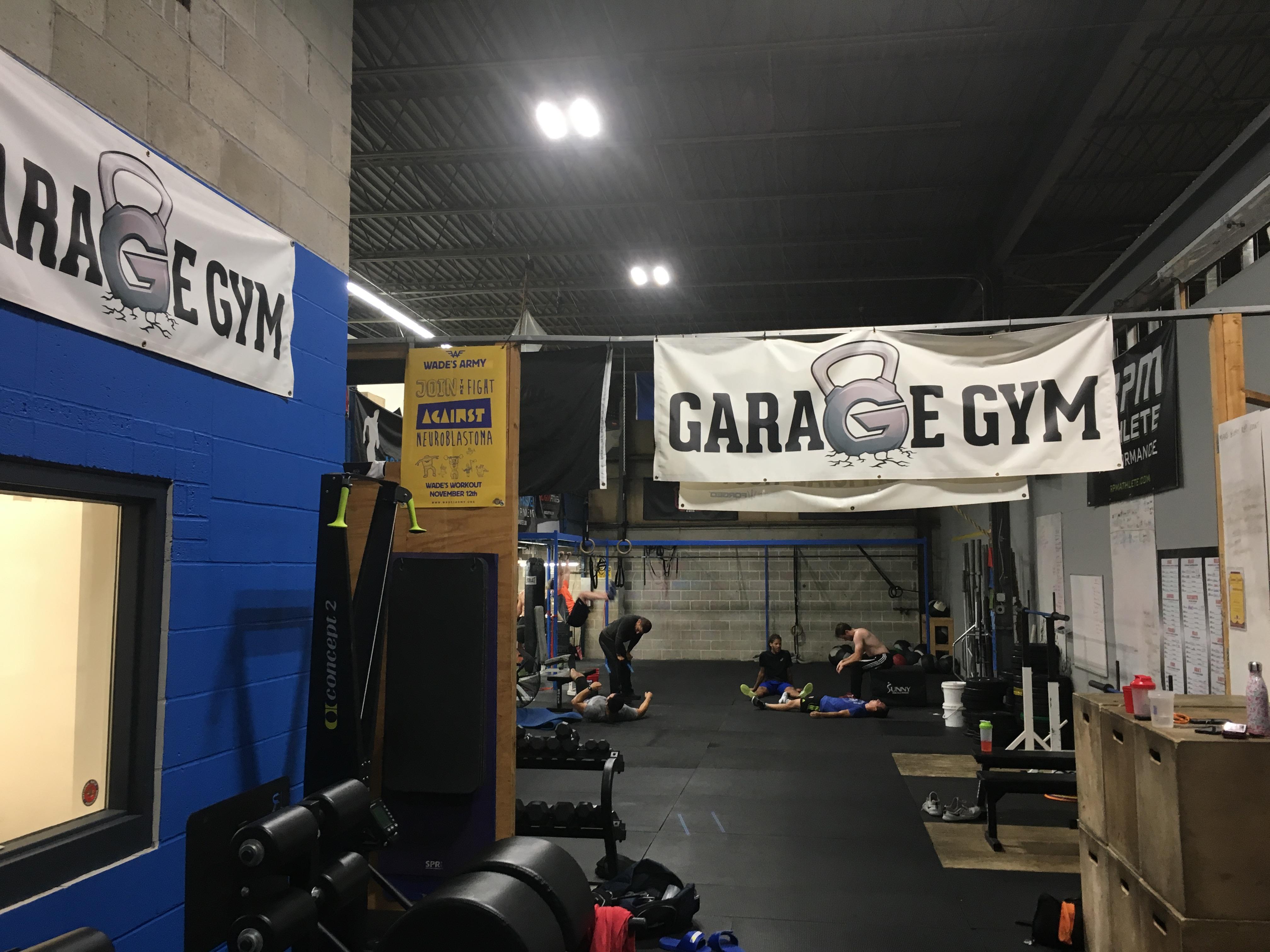 Garage gym natick u zach even esh