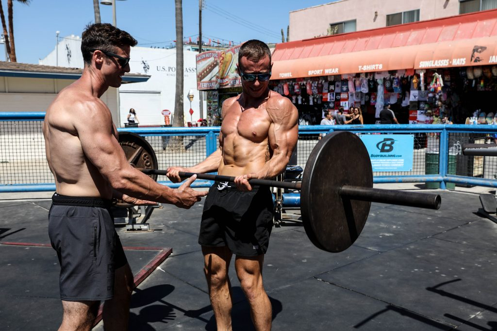 Build the ultimate garage gym from gear you already own outside